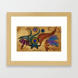 Abstract Mexico Framed Art Print