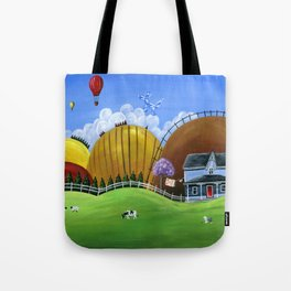 Hilly Heights Tote Bag