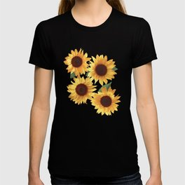 Happy Yellow Sunflowers T-shirt
