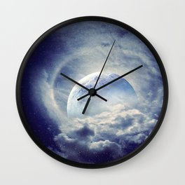 Moonlight Shadow Wall Clock