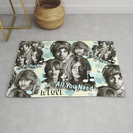 All You Need Is Love Rug