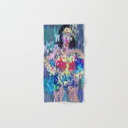 Wonder Type Woman - Abstract Pop Art Comic Hand & Bath Towel