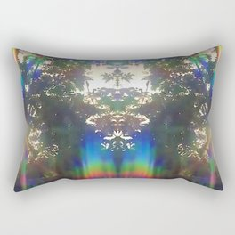 Galactic Light Beings Rectangular Pillow
