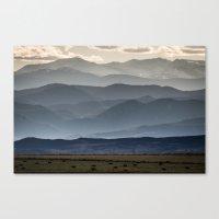 gradient Canvas Prints featuring Gradient by James Bowron
