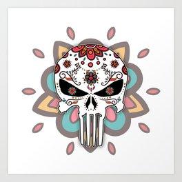 El Castigador Art Print