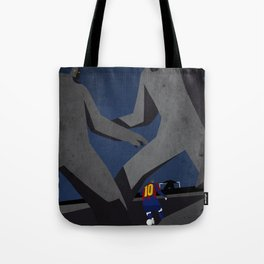Leo and the monsters Tote Bag