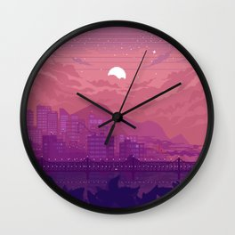 Pollution Wall Clock