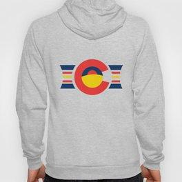 Colorado Sunset FREE SHIPPING Colorado Apparel Colorado Flag Made in Boulder Handmade Rocky Mountain Hoody
