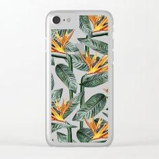 Bird Of Paradise Pattern #society6 #decor #buyart Clear iPhone Case