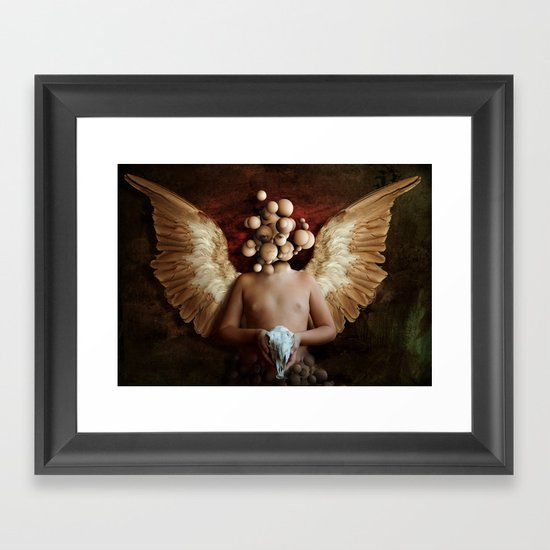 Invoke Framed Art Print
