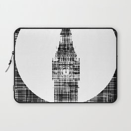 Big Ben Grunge Background Laptop Sleeve
