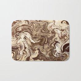 Chocolate Swirl Bath Mat