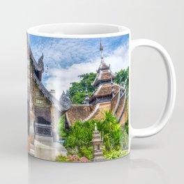 Chiang Mai Thailand Buddhist Temple Coffee Mug