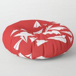 Paper Planes Floor Pillow