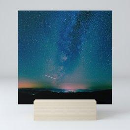 Desert Summer Milky Way Mini Art Print