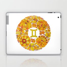 Gemini in Petrykivka Style (without artist's signature/date) Laptop & iPad Skin