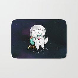 Space Kitty - Wine Time Bath Mat