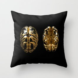 Highbrow / Looking up and down Throw Pillow