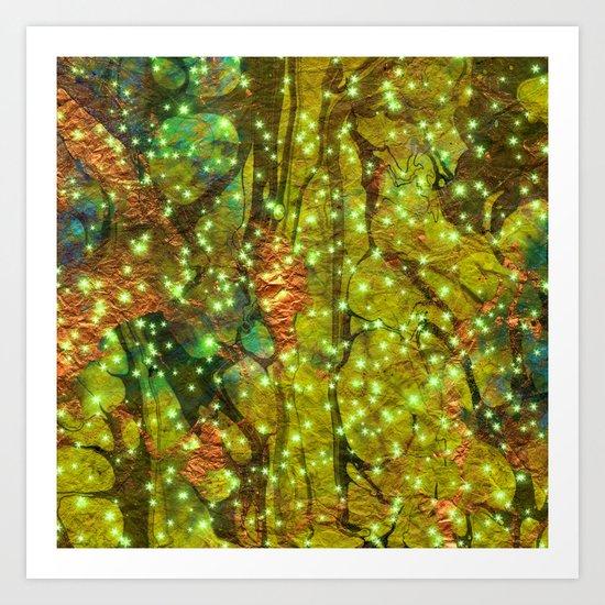 brassygreen Art Print