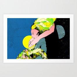 Tengo Art Print