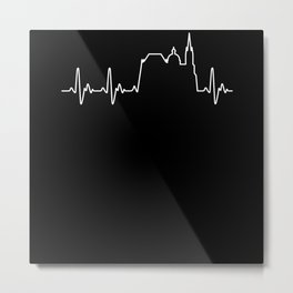 Heart For Aachen Metal Print