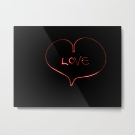 In Love Metal Print
