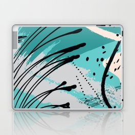 Sea green splash Laptop & iPad Skin