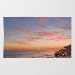 Algarve sunset Rug
