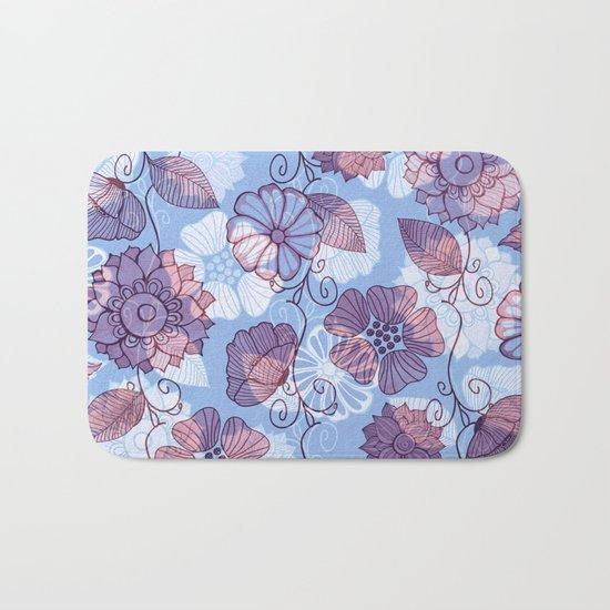 Flower Flow Bath Mat