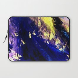 Abstract Midnight Dancer by Robert S. Lee  Laptop Sleeve