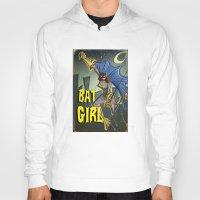 batgirl Hoodies featuring Batgirl by Joe Badon