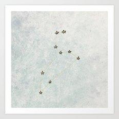 Leo x Astrology x Star Sign Art Print