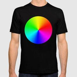 Rainbow Color Wheel T-shirt