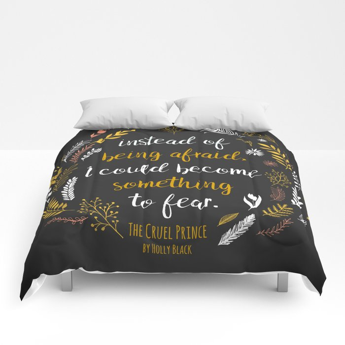 The Cruel Prince Quote Holly Black Comforters