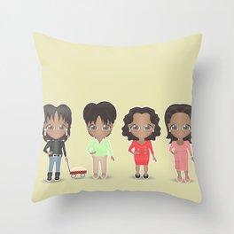 Oprah Throw Pillow