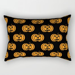 Jack O Lanterns Rectangular Pillow