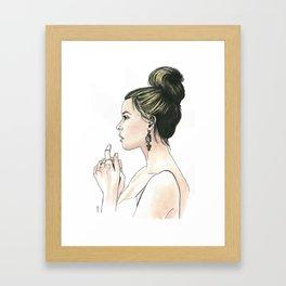 Damaris Framed Art Print