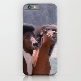 Hey babe....I'm looking good? iPhone Case