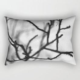Thorny branches Rectangular Pillow