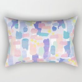 watercolor pattern Rectangular Pillow