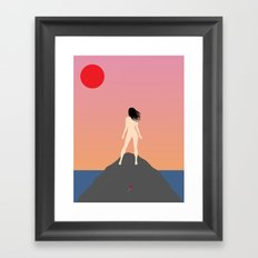 Us//Them Framed Art Print