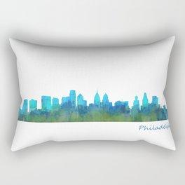 Philadelphia City Skyline Hq V1a Rectangular Pillow