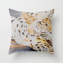 'WILD CAT' Throw Pillow