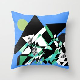 The Epic Climb Throw Pillow