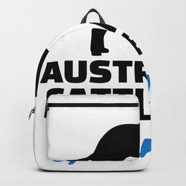 Australian Cattle Dog Grandpa Backpack