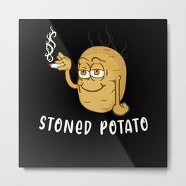 Pot Potato Metal Print