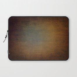 Dark aged linen texture Laptop Sleeve