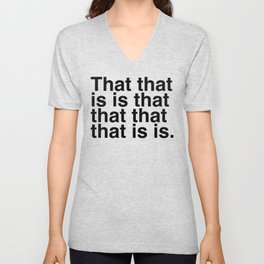 What is that? Unisex V-Neck