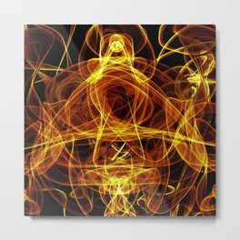 Decomposing Energy Metal Print