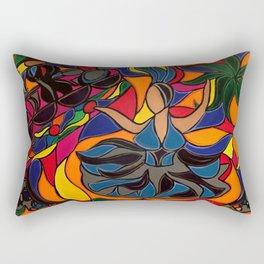 Tucan Con Alma Rectangular Pillow